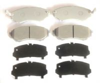 Ford Ranger 2.5TD Pick Up ER61 (16Valve) ET/ES (02/2006-2011) -  Front Brake Pad Set With Shims (4)